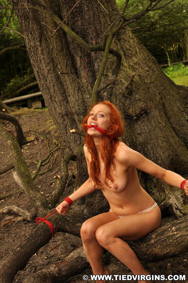 Redhead bondage clips name Dior
